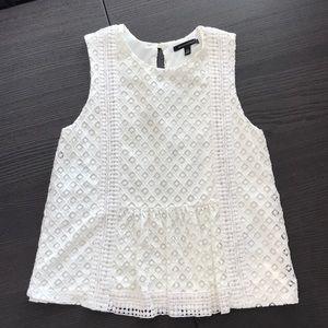 White(ivory) Dressy Top
